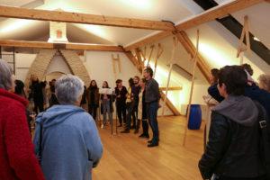 PopUpKunst: Komplott unterm Dach, Vernissage